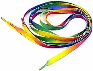 Herrer Polyester Unisex Athletic Shoelace (Multicolour, Free Size)