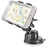 soporte móvil coche, Vena [calidad alta] universal Car Mount con ventosa para iPhone 7/7 Plus/6s/SE, Galaxy S7/S7 Edge/Note 7, Moto G4 teléfono inteligentes y dispositivo GPS