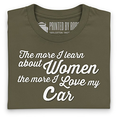 Cars For Men T-Shirt, Damen Olivgrn