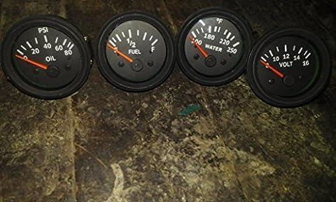 Electrical Oil Pressure + Temperature + Volt + Fuel