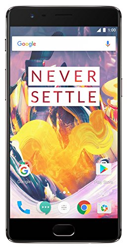 Certified Refurbished OnePlus 3T (Gunmetal, 64GB)