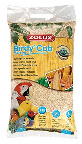Lettiera fondo di gabbia uccelli Birdy COB qualicage 5litri