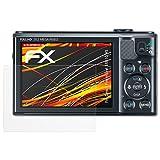 atFoliX Folie für Canon PowerShot SX610 HS Displayschutzfolie - 3 x FX-Antireflex-HD hochauflösende entspiegelnde Schutzfolie