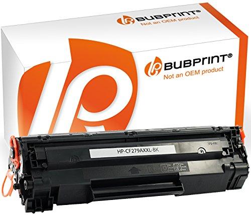 Preisvergleich Produktbild Bubprint Toner kompatibel für HP CF279A 79A für Laserjet Pro M12 M12A M12W M26A M26NW M26 Series 2500 Seiten Schwarz Black