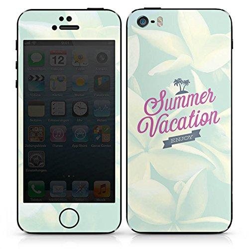 Apple iPhone 4s Case Skin Sticker aus Vinyl-Folie Aufkleber Sommer Urlaub Sprüche DesignSkins® glänzend