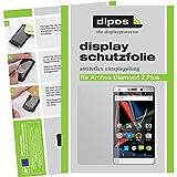 dipos I 6X Schutzfolie matt passend für Archos Diamond 2 Plus Folie Bildschirmschutzfolie