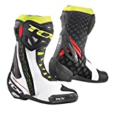 TCX STIVALI RT-RACE - Colore white-red-yellow fluo - Taglia 43