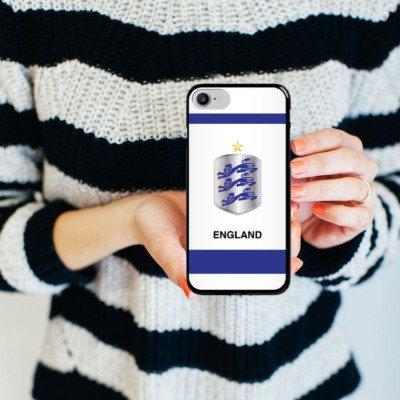 Apple iPhone X Silikon Hülle Case Schutzhülle fußball trikot fussball Hard Case schwarz