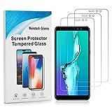Weinstock-Science | 3X bruchsicheres Schutzglas für Samsung Galaxy A8 2018| Schutzfolie aus 9H Echt Glas