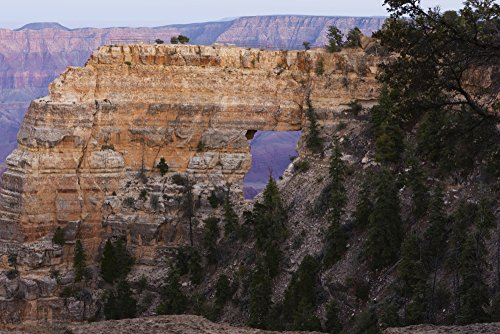 The Poster Corp Ronald Phillips/Design Pics - Angel's Window Grand Canyon National Park; Arizona United States of America Photo Print (96,52 x 60,96 cm)