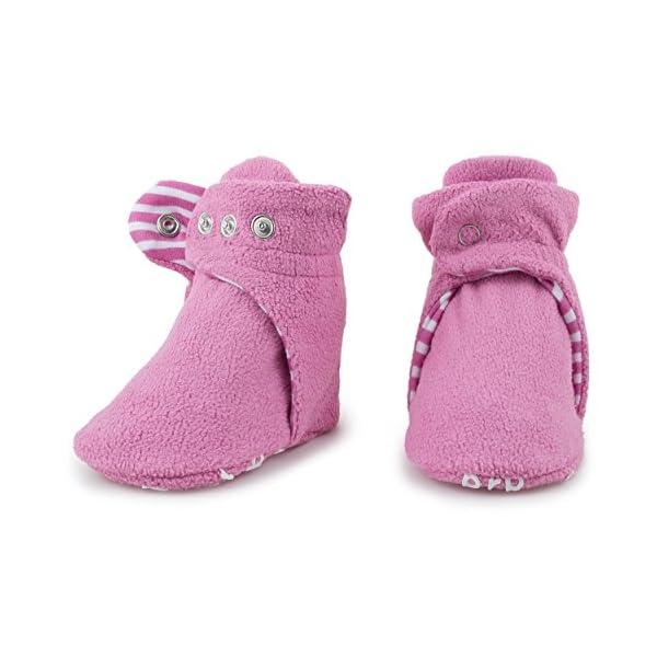 BirdRock Baby Botines de Bebé - Suave Algodon Organico, Mejor Que Calcetines! - Zapato Bebés 4