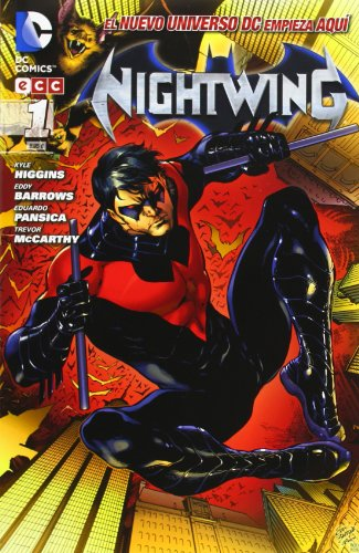 Kyle Higgins, Eddy Barrows, Eduardo Pansica, Trevor McCarthy. . Dick Grayson fue Robin, el Chico Maravilla, compañero inseparable de Batman; cuando se separaron fue Nightwing, y durante la ausencia de Bruce Wayne ha sido el mismísimo Hombre Murciélag...