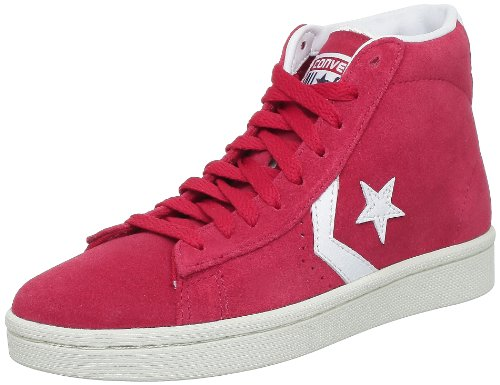 Converse Pro Lea Sue Mid, Baskets mode mixte adulte - Rouge