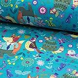 Brittschens Stoffe und Zutaten Stoff Softshell | Fuchs