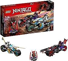LEGO Ninjago 70639 - Straßenrennen des Schlangenjaguars, Cooles Kinderspielzeug