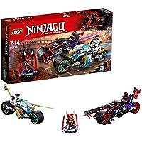 Lego Ninjago - La Course de Rues en Motos - 70639  - Jeu de Construction