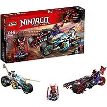 LEGO Ninjago Carrera callejera del jaguar-serpiente, única (70639)