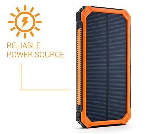 opul solar powerbank mit aufladung ueber solarpanels. Black Bedroom Furniture Sets. Home Design Ideas