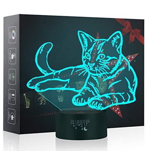 ampe, Baby Schlafzimmer Schlaf Lichter, 7 Farben Touch Tischleuchte, Das beste Kinderspielzeug licht Weihnachtsgeschenke ()