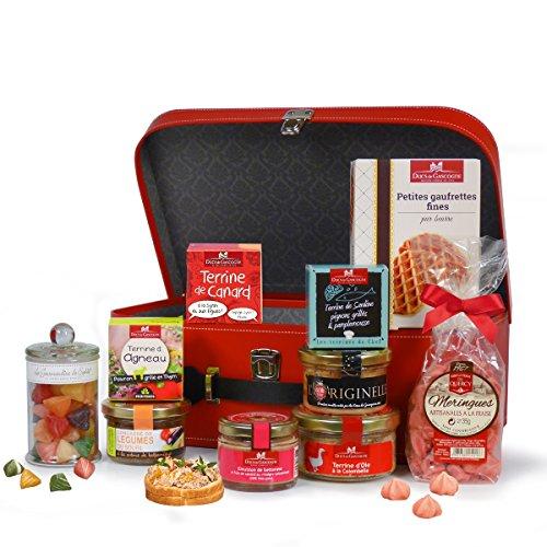 """Ducs de Gascogne - Coffret gourmand """"Rhapsodie gourmande"""" - Comprend 10 produits - Spécial cadeau"""