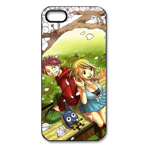 iPhone 5S Case, iPhone 5/iPhone 5S Case Coque, Screen Protector pour iPhone 5S, Fairy Tail Designs iPhone 5 Case, iPhone 5/iPhone 5S Coque de protection Case