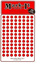 Map Dot Stickers - 1/4