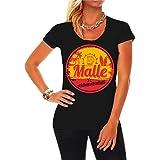 Spaß kostet Frauen und Damen T-Shirt Malle Nicht Ohne Mein Team (mit Rückendruck) Größe XS - 3XL