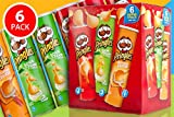 #1: Pringles Assorted Variety Flavour Combo Pack, [ 6 Assorted Flavours, Party Pack]