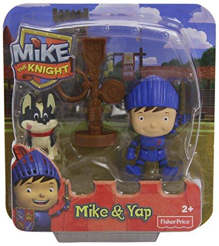 Mike le chevalier–Pack de figurines d'action Mike et Yap multicolore
