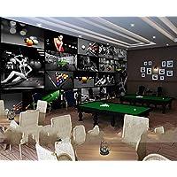 nxmrn billard zimmer tischtennisraum 3d tapete print fotowand papier wand dekor malerei murals benutzerdefinierte grosse 400cmx210cm