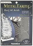Fascinations Metal Earth MMS017 - 502580, Burj al Arab, Konstruktionsspielzeug, 1 Metallplatine, ab 14 Jahren