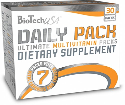 BiotechUSA Daily Pack 30 Päckchen (D3 Vitamin 3000)