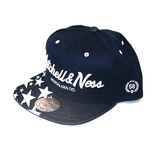 Mitchell & Ness Herren Caps / Snapback Cap Denim Star blau Verstellbar