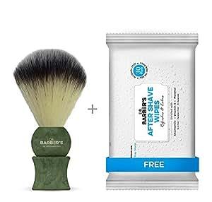 Dorco LetsShave Shave Brush - Green
