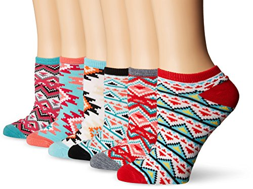 K-Bell Multipack No Show Socks, Multi-Colour, 21.59 x 9.14 x 5.58 cm