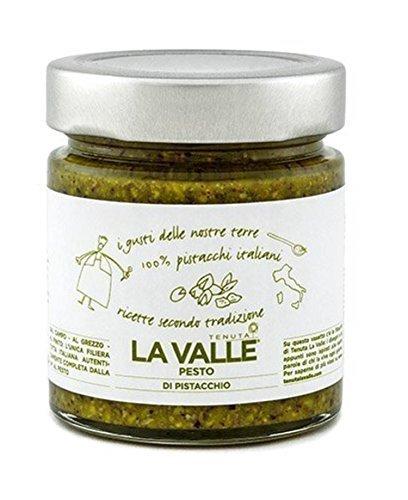 190gr Premium Pistazienpesto mit 65% sizilianischen Pistazien und Olivenöl extra -