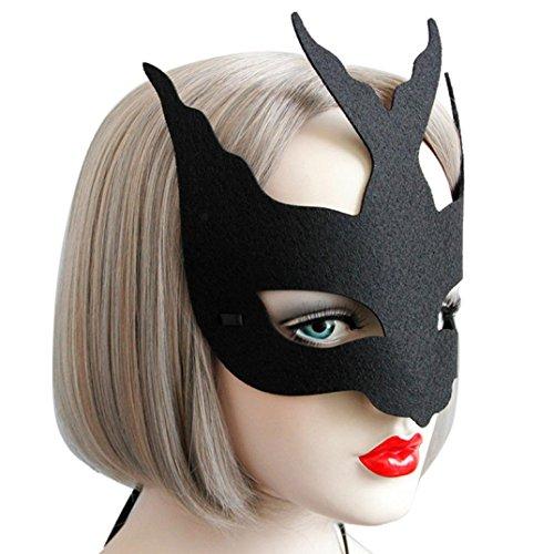HCFKJ 2017 Mode Halloween Elegante Halloween Spinnenauge Gesichtsmaske Maskerade Ball Karneval Fantastische Party (B)