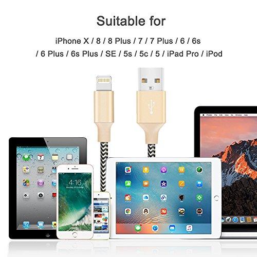 [2 Pack] Pellicola Protettiva iPhone 7 Plus 8 Plus Vetro Temperato Schermo Protezione 2,5D Screen Protector 0,33 mm HD Oleofobico Ultra Resistente Alta Qualità Gold Oro