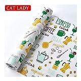 CAT LADY Imperméable Tapis de Tiroir, Doublure de Tiroir Films de Tiroir Tapis de...