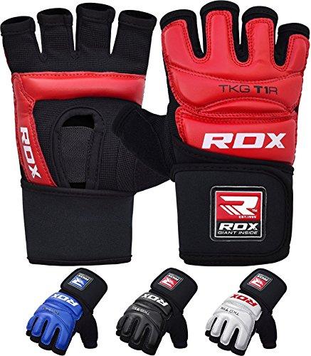 RDX Guanti Taekwondo TKD Guantoni Grappling Sacco WTF Semi Contact Arti Marziali Allenamento Combattimento Sparring