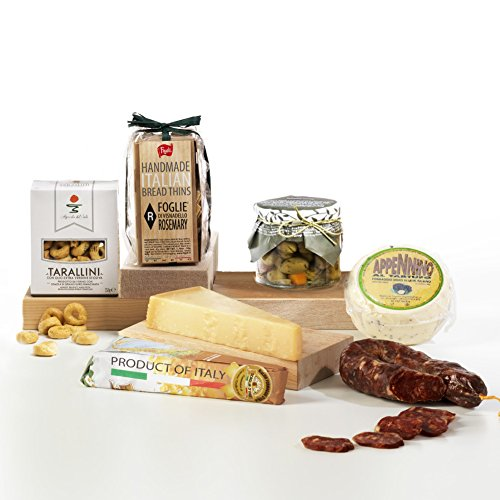 Hay Hampers Italian Antipasti Selection Gourmet Hamper Box - FREE UK Delivery