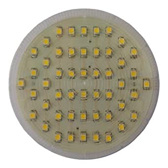 4 x X53 SMD 50 LED 3W 240 ampoules Blanc