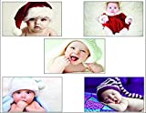 #7: PRINTELLIGENT Decorative Baby Poster (12 x 18 inches) - Set of 5 Posters