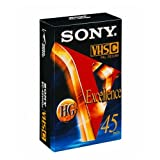Sony - VHS-C, HiFi Excellence Qualität, 45 Minuten -