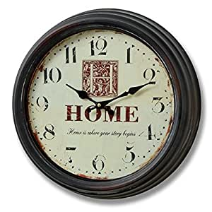 "Horloge ""Home Is Where Your Story Begins"""