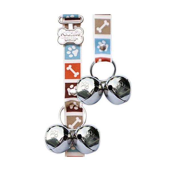 PoochieBells Dog Doorbells, Bone Appetite Brown_desther 1
