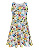 Disney Tsum Tsum Girl's Skater Dress (7-8 Years)