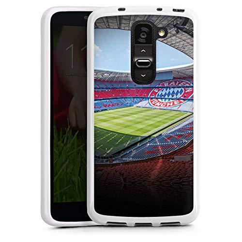 DeinDesign LG G2 Mini Silikon Hülle Case Schutzhülle FC Bayern München Stadion Fanartikel Merchandise