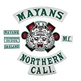 Mayans MC Sons of Anarchy - Toppa da Cucire 100% identica agli Originali