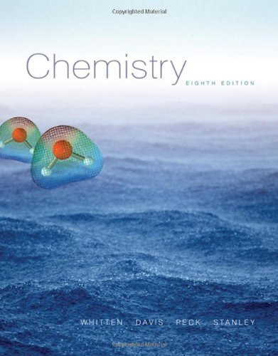 Chemistry (with CengageNOW Printed Access Card) (Available Titles CengageNOW) by Kenneth W. Whitten (2006-02-16)